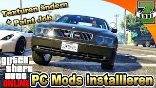 GTA 5 PC MODS INSTALLIEREN | TUTORIAL | Autos ins Spiel einfügen + Paint Jobs | Schritt für Schritt