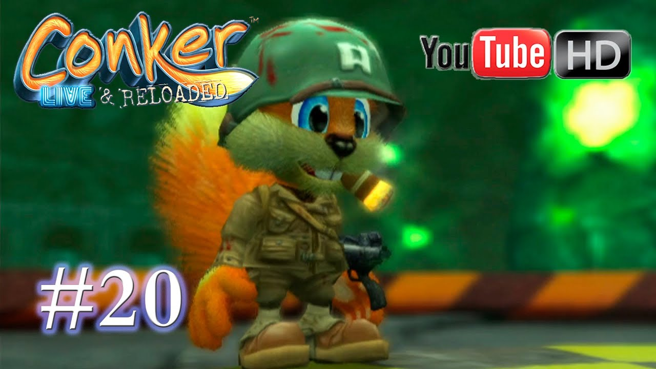 Conker Live Reloaded Xbox Part 20 Walkthrough