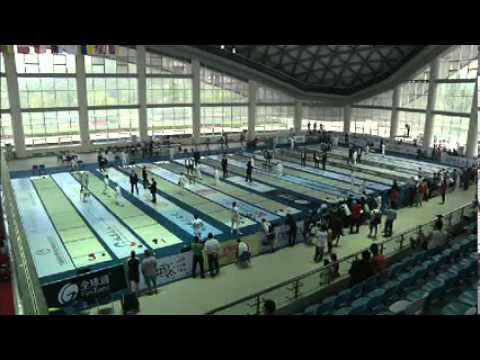 Modern Pentalthon World Cup Series #3 Chengdu Fencing Women Final