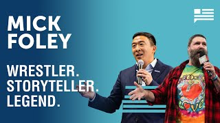Mick Foley shares the stories behind his legendary characters | Andrew Yang | Yang Speaks