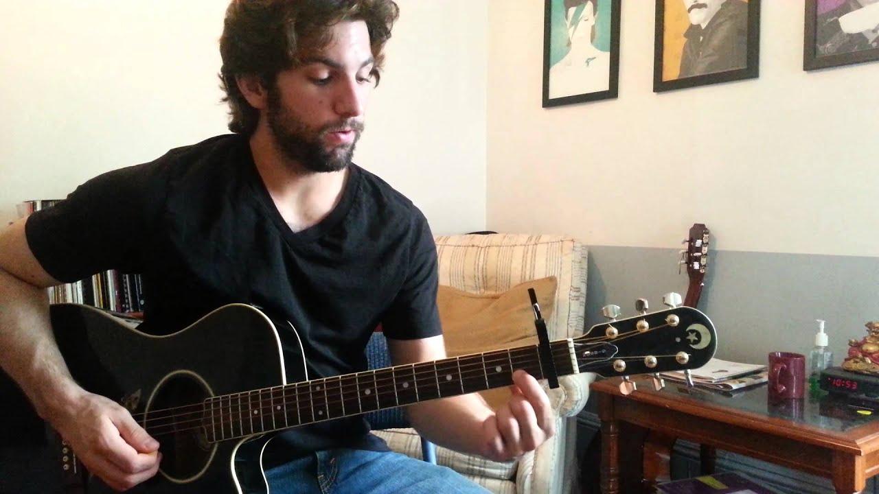Ellie Goulding Burn Guitar Chords Lesson By Shawn Parrotte