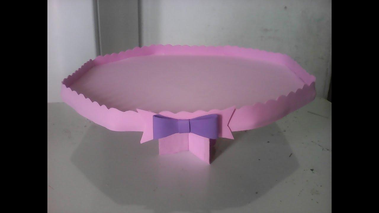 Super Bandeja provençal de papelão e eva, fácil, barato,decoração  NS11