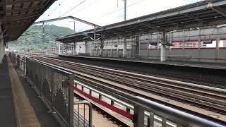 E5系 東北新幹線はやぶさ108号東京行き 福島駅 通過