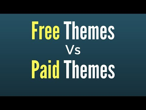 free-themes-vs-paid-themes-for-wordpress