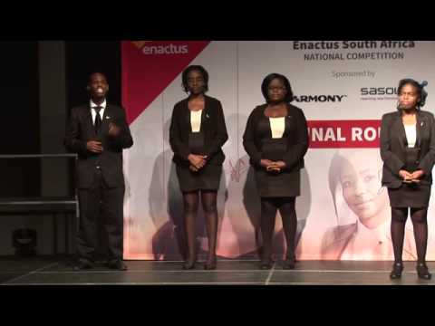 Enactus South Africa - Durban University of Technology Final Round Presentation