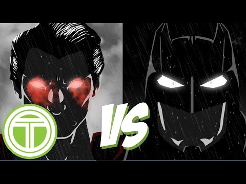 Batman vs Superman: Dawn of Justice teaser trailer (animated fan re-creation)