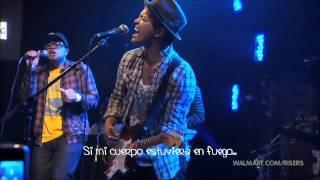 Bruno Mars - Grenade Live / Subtitulada en español