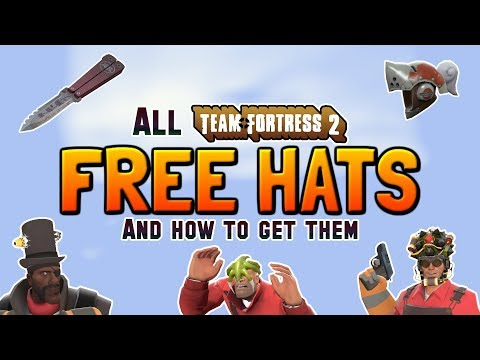 TF2: FREE HATS 2019 - Every Free Hat & How To Unlock Them