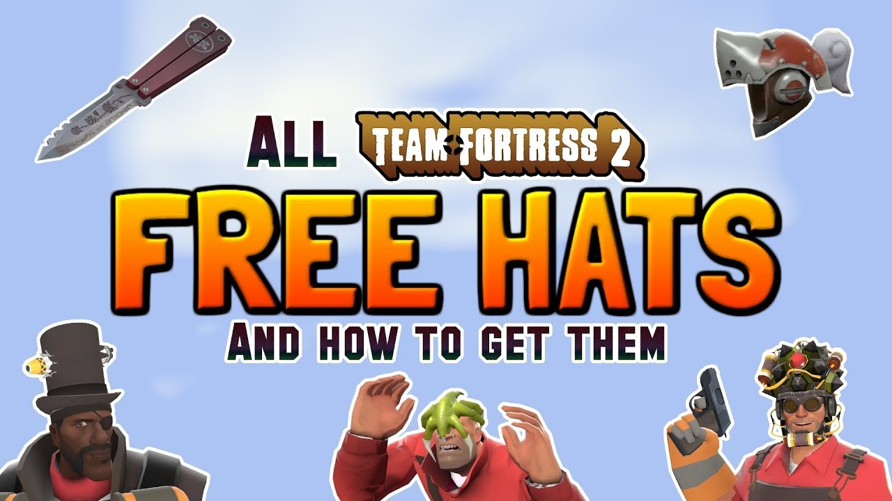 tf2 free hats 2018 every free hat how to unlock them youtube