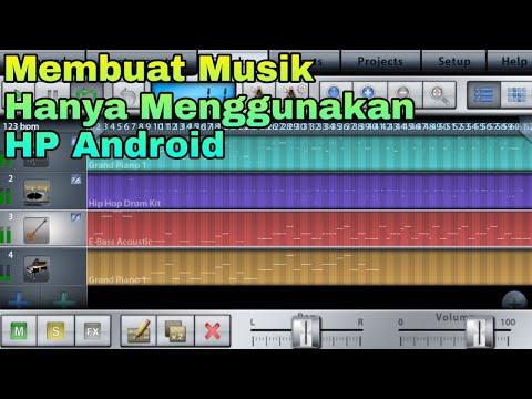 Cara Buat Musik di Android (Tutorial Music Studio Lite)