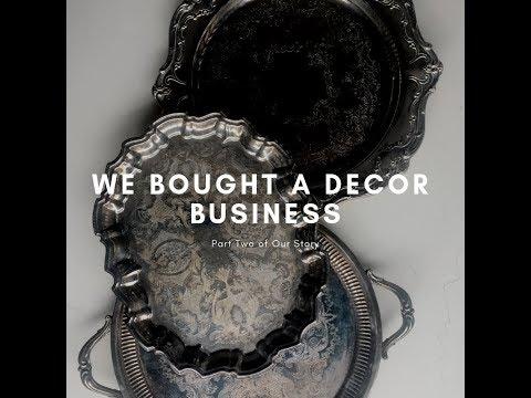 We Bought A Wedding Decor Business! - IG Story recap