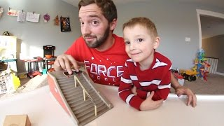 FATHER SON FINGERBOARD TIME 2!