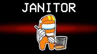 among us NEW JANITOR ROLE (mods)