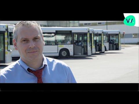 Jérôme, conducteur de bus, formé chez AFTRAL