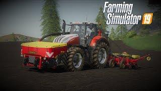 farming simulator 19 Europejski Rolnik odc35 Siew kukurydzy