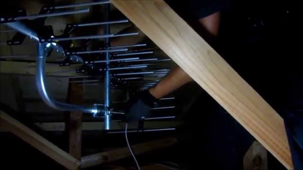風呂 お風呂のテレビ 地デジ化 : テレビアンテナを屋根裏へ取付 ...