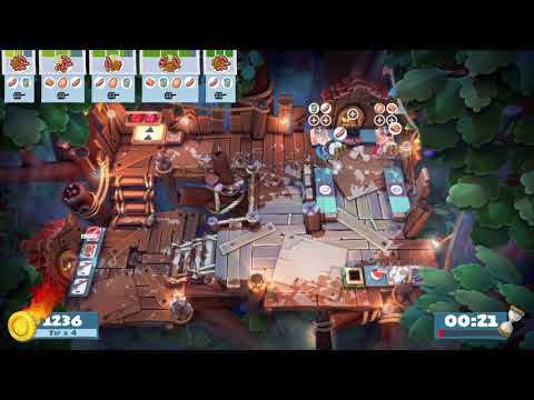 Overcooked! All You Can Eat Campfire Cook Off 2-2 4 Stars |