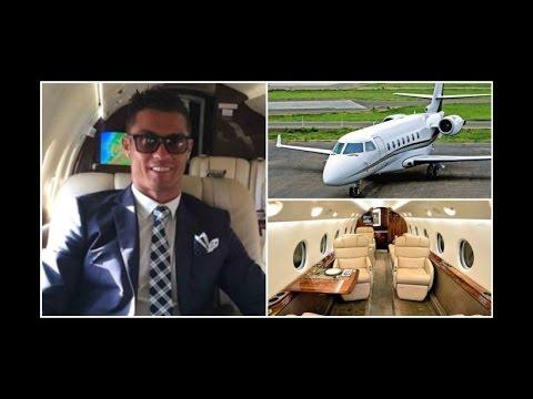 Conheça o avião de Cristiano Ronaldo thumbnail