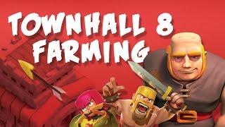 Efficient TH 8 Farming Strategies! Clash of Clans