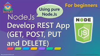 Develop complete REST service app using pure Node.js (GET, POST, PUT and DELETE)