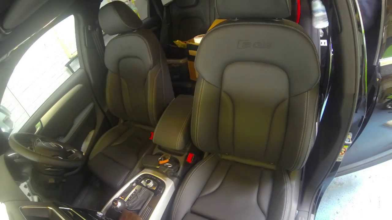 How To Remove Audi Sq5 Seats For Heated Seat Retrofit Youtube A8 D2 Wiring Diagram