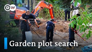 Maddie McCann update: German police search garden plot in Hannover | DW News