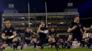The banned Haka