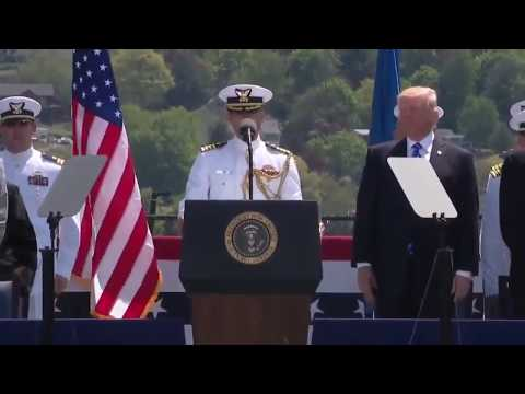 United States Coast Guard Academy Commencement