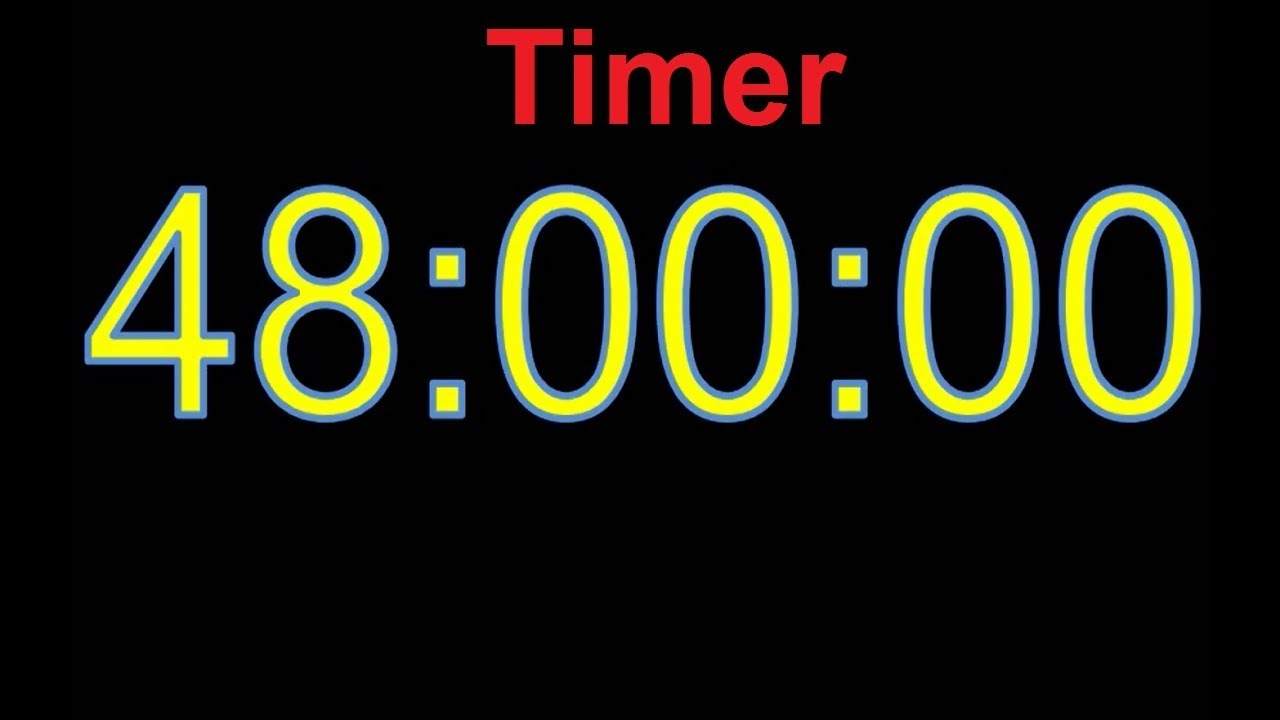 Download 48 Hour Timer 48 Hour Countdown 48 Stunden Countdown Timer 48h timer