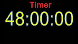 48 Hour Timer 48 Hour Countdown 48 Stunden Countdown Timer 48h timer