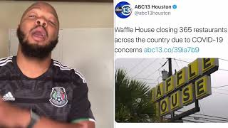 Gambar cover ‪Waffle House closed 365 restaurants which means THIS SERIOUS‬