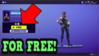 HOW TO GET SURVIVAL SPECIALIST SKIN FOR FREE! (Fortnite Old Skins)