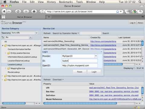 iServe Semantic Web Service Registry