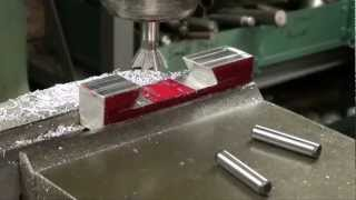 MACHINE SHOP TIPS #77 Cutting a Dovetail on Bridgeport Mill Part 2 of 2 tubalcain