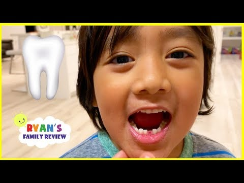Ryan lost his first tooth + Money Surprise from the Tooth Fa