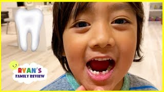 Ryan lost his first tooth + Money Surprise from the Tooth Fairy!!!