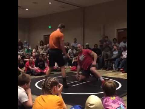 Kyle Snyder and Helen Maroulis at MD Coaches Convention
