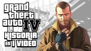 Grand Theft Auto 4: La Historia en 1 Video