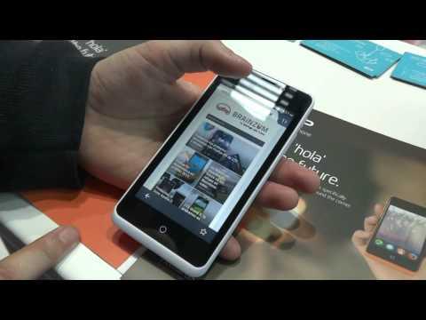 Geeksphone, smartphones Firefox OS