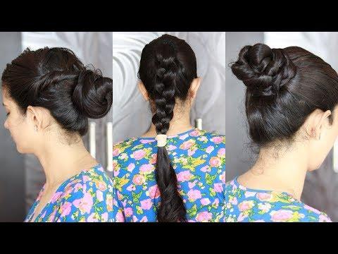 3-oily-hair-hairstyles-|-oiled-hair-hairstyles-|-oily-बालों-के-लिए-3-आसान-hairstyles
