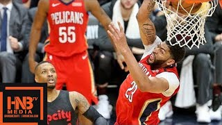 Portland Trail Blazers vs New Orleans Pelicans Full Game Highlights / Game 3 / 2018 NBA Playoffs