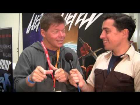 Rob Liefeld Talks Hawkman and Fax Machines @ SDCC 2012