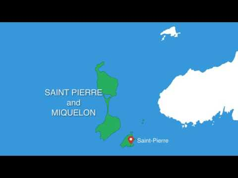 Saint Pierre and Miquelon Canada Keynote maps