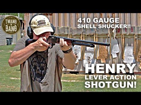 Henry Lever Action Shotgun! 410 Gauge Shell Shucker
