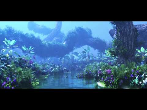 Avatar fan film Pandora environment test -forest, floating mountain (3D Studio Max - Vue Xstream)