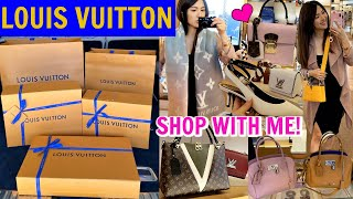 NEW 👜🧣👓👠 AT LOUIS VUITTON 🛍 SHOPPING DAY🙌🏼💕👜 | CHARIS❤️
