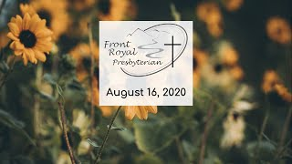 FRPC- August 16, 2020