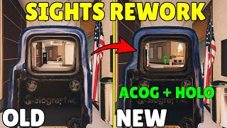 NEW Rework Concept To Scopes and Reticles - Rainbow Six Siege