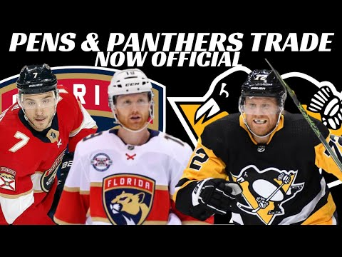 NHL Trade - Pens Trade Hornqvist To Panthers For Matheson & Sceviour (official)