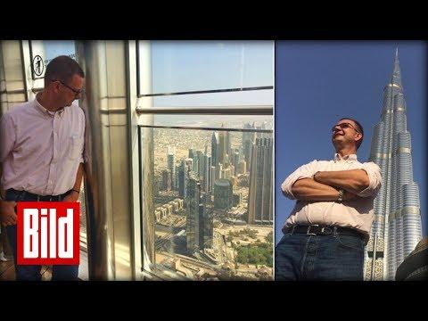 In 124 Stunden um die Welt - Auf den schönsten Dächern in Dubai Teil 4